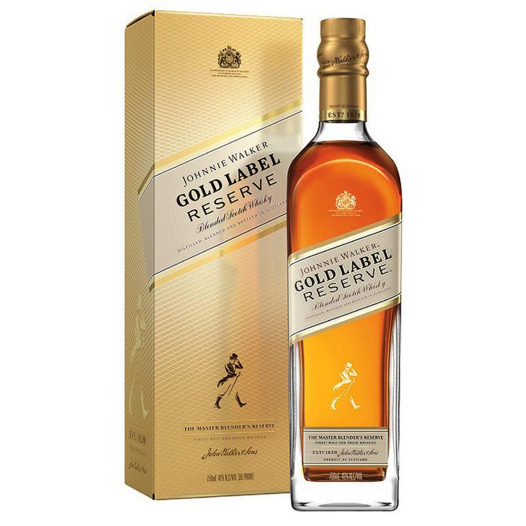 Johnnie Walker Gold Label Reserve Blended Scotch Whisky [1000ml]