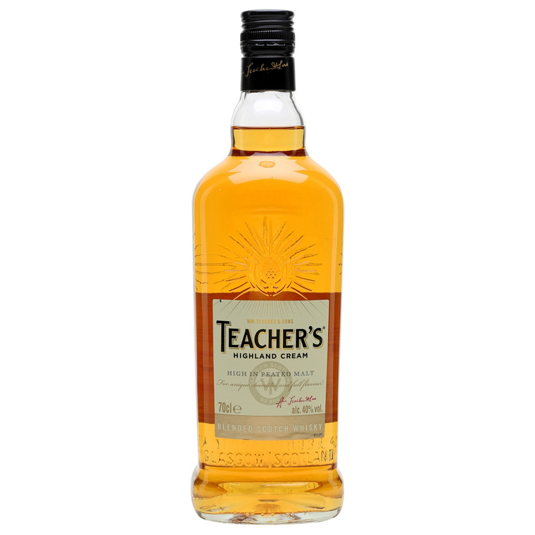Teacher's Highland Cream Blended Scotch Whisky [1000ml]