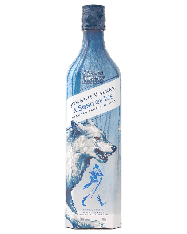 Johnnie Walker A Song of Ice Blended Scotch Whisky Game of Thrones Limited Edition [1000ml]