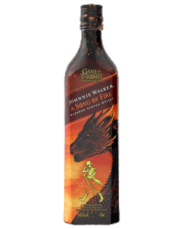 Johnnie Walker A Song of Fire Blended Scotch Whisky Game of Thrones Limited Edition [1000ml]