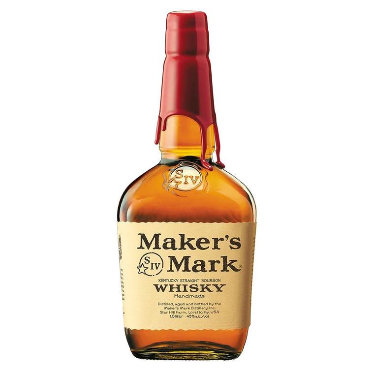 Maker's Mark Kentucky Straight Bourbon Whisky [1000ml]