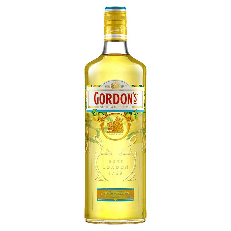 Gordon's Sicilian Lemon Distilled Gin [1000ml]