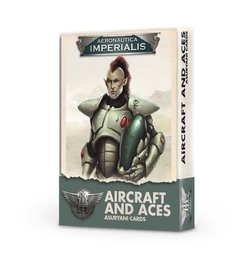 Aeronautica Imperialis Asuryani Aircraft & Aces Card Pack