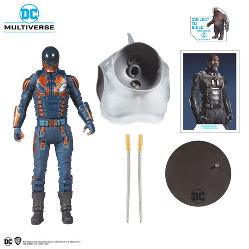 DC Collector Bloodsport 7In Scale Action Figure