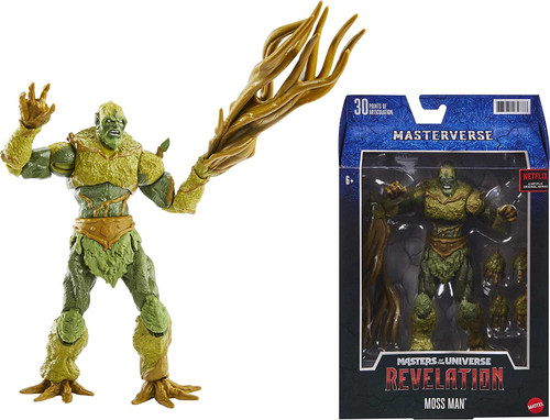 Masters of the Universe Masterverse: Revelation Moss Man Action Figure