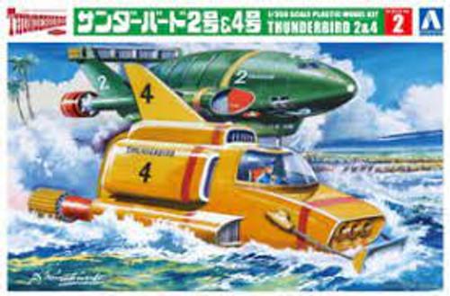 Thunderbird 2 & 4
