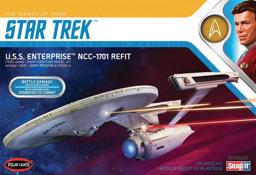 Star Trek II: The Wrath of Khan U.S.S. Enterprise NCC-1701 Refit