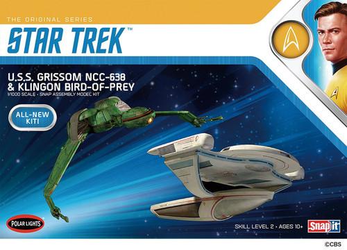 Star Trek U.S.S. Grissom & Klingon Bird of Prey