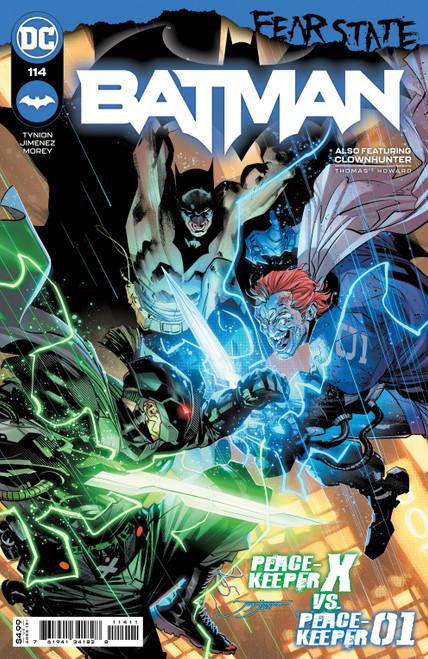 Batman #114 Cvr A Jorge Jimenez