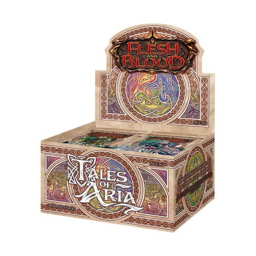 Flesh And Blood TCG: Tales of Aria Booster Pack (First Edition) Full box of 24 Booster packs