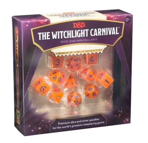 Witchlight Carnival Dice Set: Dungeons & Dragons (DDN)