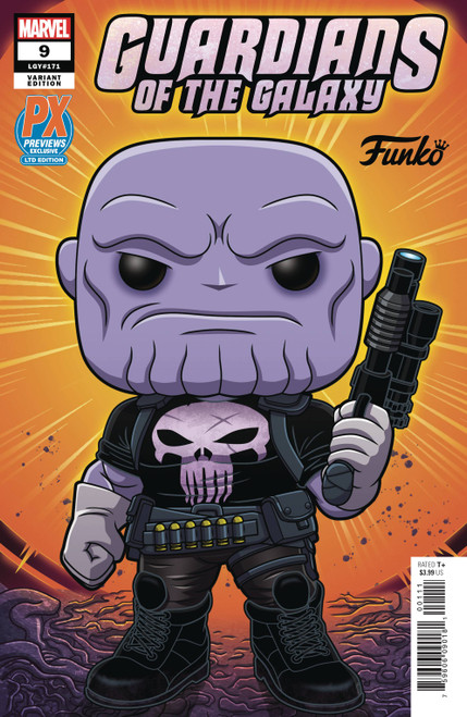 Guardians Of The Galaxy #9 Px Funko Variant