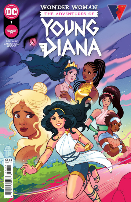 Wonder Woman Adventures Of Young Diana Spec (One S