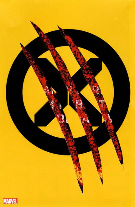 WOLVERINE #1 CHIP KIDD DIE CUT VAR DX