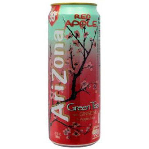 Arizona Red Apple - Green Tea with Ginseng & Red Apple Can 680ml