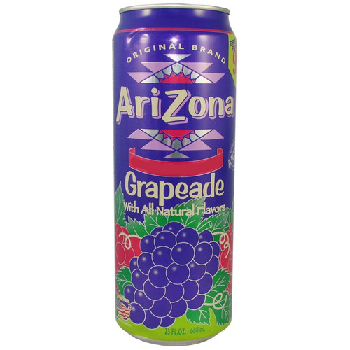 Arizona Grapeade Can 680ml