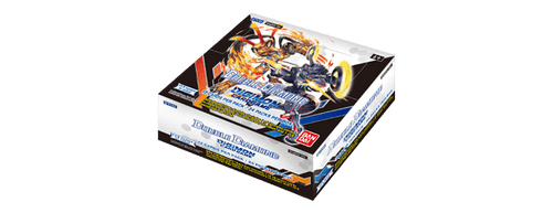 Digimon Card Game: Boosters - Double Diamond BT06 (Full Box containing 24 booster packs) + 2 Dash Packs while stocks last