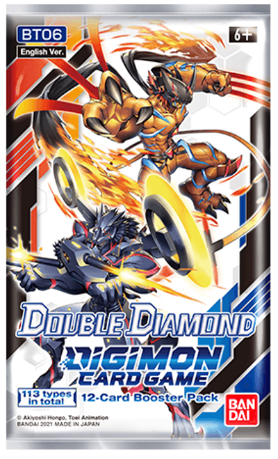 Digimon Card Game: Booster - Double Diamond BT06