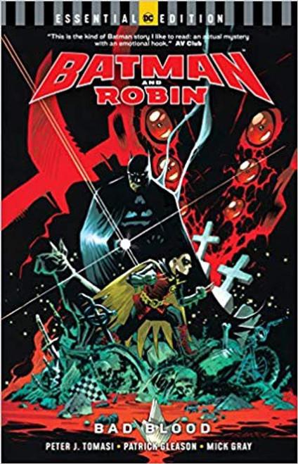Batman And Robin Bad Blood Essential Edition
