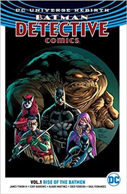 Batman Detective Vol 01 Rise Of The Batmen (REBIRTH)
