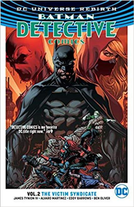 Batman Detective Vol 02 Victim Syndicate (REBIRTH)