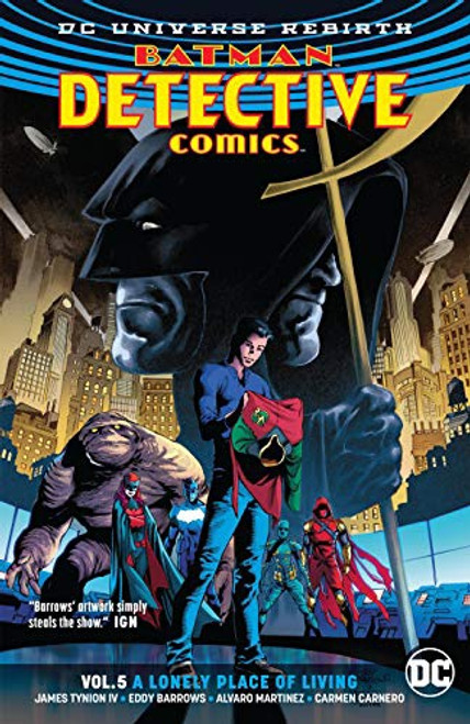 Batman Detective Vol 05 Lonely Place Of Living (REBIRTH)