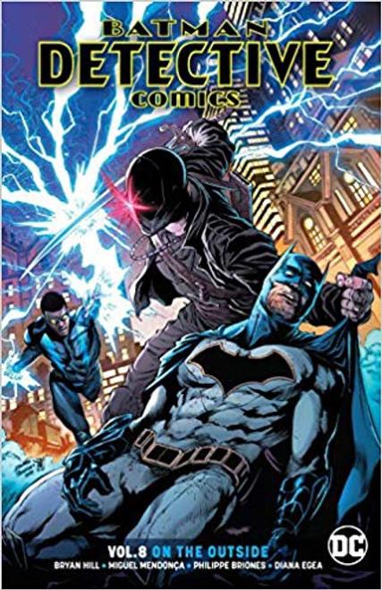 Batman Detective Comics Vol 08 On The Outside