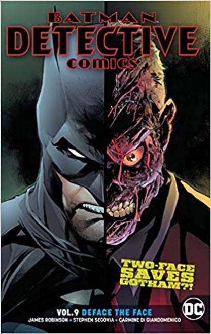 Batman Detective Comics Vol 09 Deface The Face