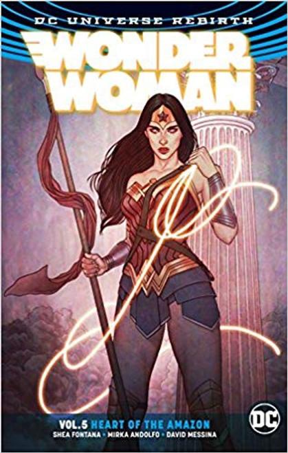 Wonder Woman Vol 05 Heart Of The Amazon (REBIRTH)