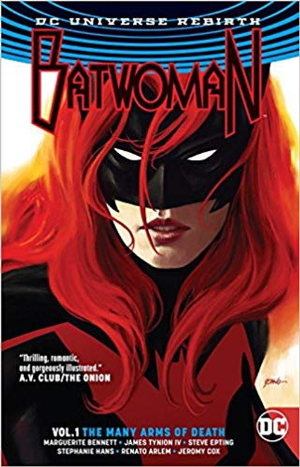 Batwoman Vol 01 The Many Arms Of Death (REBIRTH)