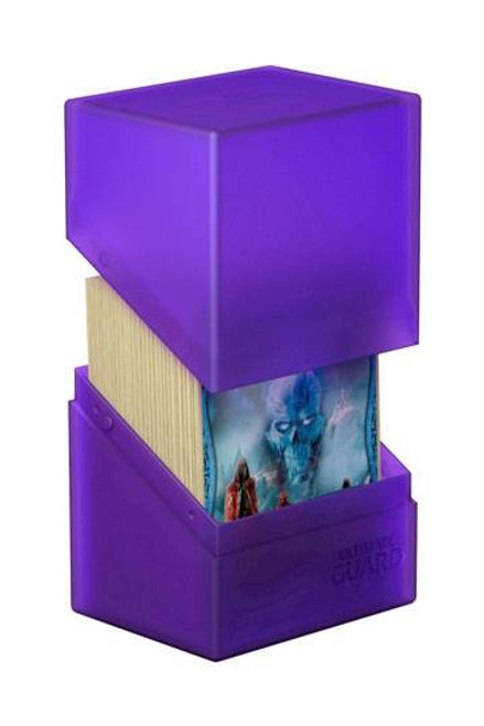 Ultimate Guard Boulder Deck Case 80+ Standard Size Amethyst