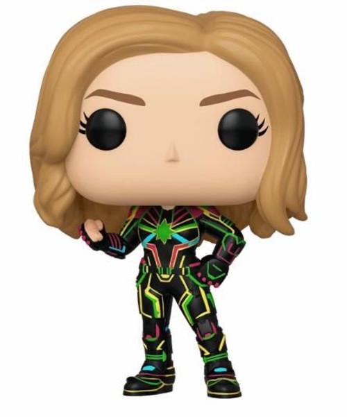 Pop Captain Marvel: Captain Marvel With Neon Suit #516