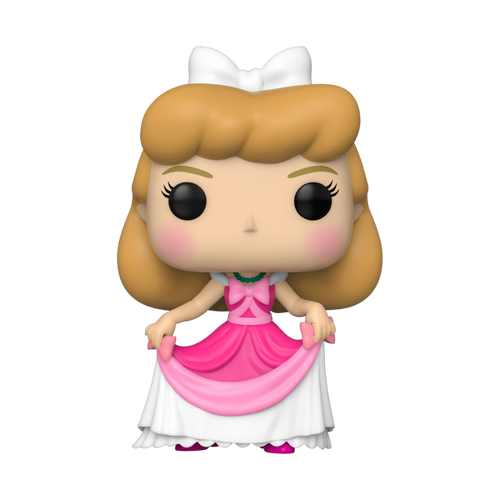 Pop Cinderella: Cinderella In Pink Dress #738