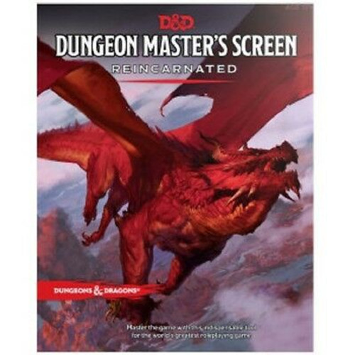 D&D Dungeon Masters Screen Reincarnted