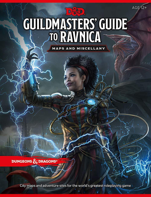 Guildmasters Guide To Ravnica Maps And Miscellany: Dungeons & Dragons (DDN)