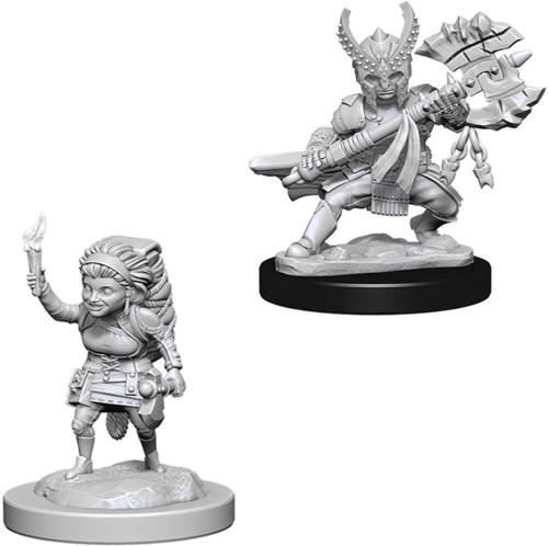 Female Halfling Fighter - D&D Nolzur's Marvelous Miniatures