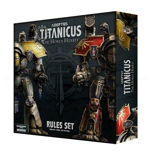 Warhammer 40K: Adeptus Titanicus: Rules Set