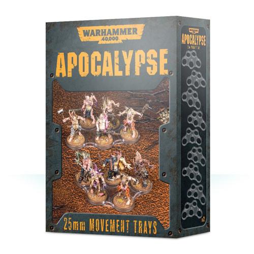 Warhammer 40000 Apocalypse Movement Trays (25mm)