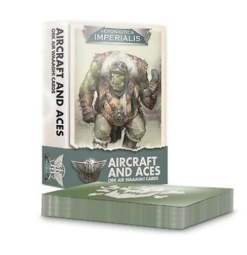 Aeronautica Imperialis: Aircrft & Aces: Ork Air Waaagh! Crds