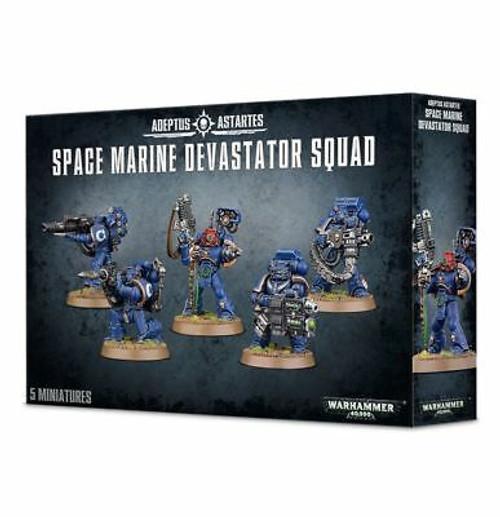 Space Marine Devastator Squad (older packaging)