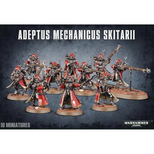 Adeptus Mechanicus Skitarii (older packaging)