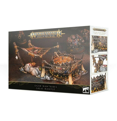 Warhammer Age Of Sigmar: Ogor Mawtribes Great Mawpot