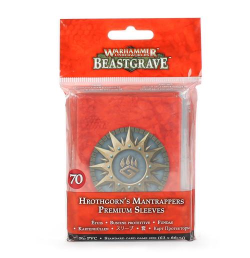 Warhammer Underworlds: Hrothgorn's Mantrappers Premium Sleeves