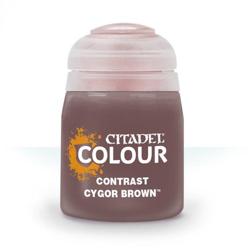 Citadel Colour: Contrast: Cygor Brown (18ml)