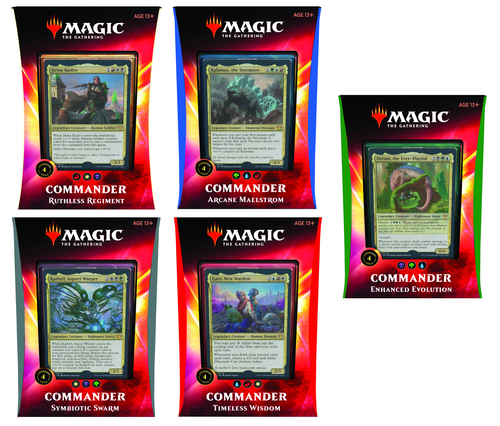 MTG: Ikoria - Lair of Behemoths Set of All 5 Commander Decks