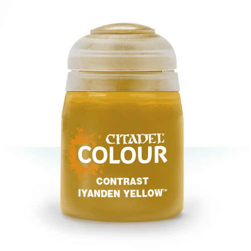 Citadel Colour: Contrast: Iyanden Yellow (18ml)