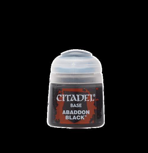 Citadel Colour: Base: Abaddon Black
