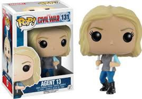 Pop Civil War: Agent 13 #131 REDUCED TO CLEAR