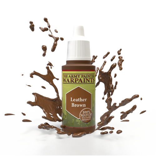 Army Painter: Leather Brown Paint Pot