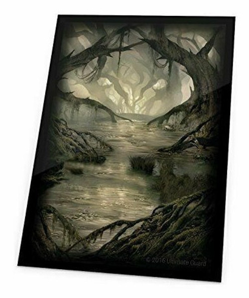 Ultimate Guard Printed Sleeves Standard Size Lands Edition Swamp I (80)